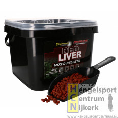 Starbaits pc red liver pellets mixed