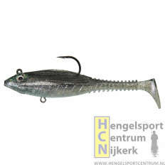 Gunki Grubby Free Shad NATURAL GREY