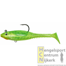Gunki Grubby Free Shad HOT FIRE TIGER