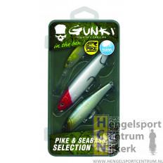 Gunki box pluggen snoek en zeebaars