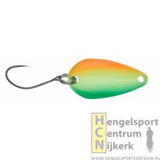 Gunki lepel Reinbo trout SWAY 2.5 gram HOT FIRE/GREEN FLUO