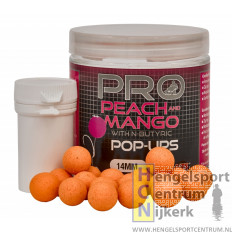 Starbaits probiotic peach & mango pop up 14 mm