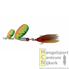 Pezon et Michel buck pike tandem spinner FIRE TIGER