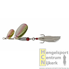 Pezon et Michel buck pike tandem spinner RAINBOW TROUT