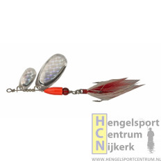 Pezon et Michel buck pike tandem spinner FULL SILVER