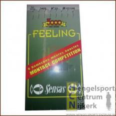 Sensas Feeling Onderlijn 3091 nikkel 40 cm