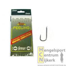 Sensas Feeling Onderlijn 3405 zwart 18 cm