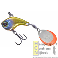 Illex deracoup 1/2 oz spinner UV SECRET GOLD BAITFISH