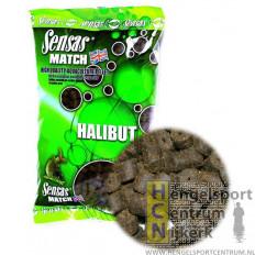 Sensas pellets halibut voorgeboord per 750 gram