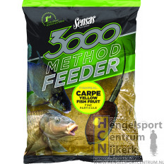 Sensas 3000 method feeder carpe yellow