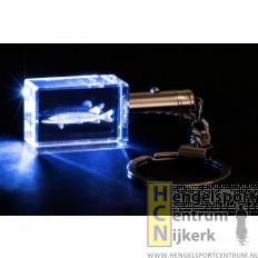 Lichtgevende sleutelhanger snoek