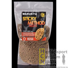 Marukyu Sticky Method Pellets Chilli Heat 800 gram