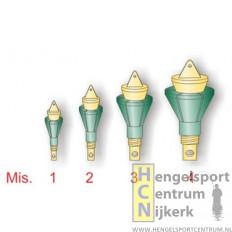 Stonfo regelbare eindbush voor elastiek