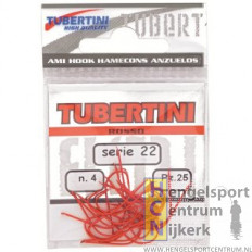 Tubertini forelhaak serie 22 Rood
